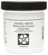 Daniel Smith Watercolour Ground Titanium White 473ml