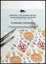Turkish Designs Artist Colouring Book Pepin