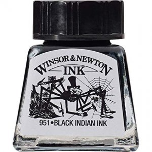 Indian Ink Black 14ml Winsor&Newton