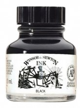 Indian Ink Black 30ml Winsor&Newton