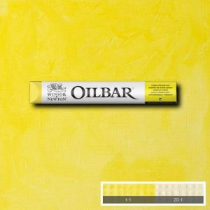 Winsor & Newton Lemon Yellow Hue 346 Oilbar 50ml