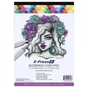 X-press It Blending Card Pad 250gsm A3 20sh