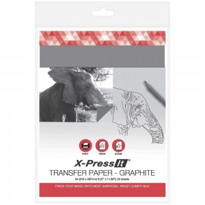 Graphite Transfer Paper A4 Xpress (20pk)