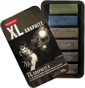 Derwent XL Coloured Graphite Blocks