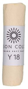 Unison Soft Pastel Yellow 18