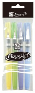 Zig Water Brush H2o 4 Set