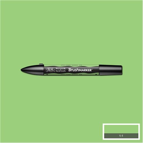 Apple (G338) Winsor Brush Marker - Click Image to Close