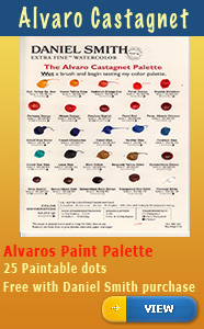 Alvaro Daniel Smith Colour Palette
