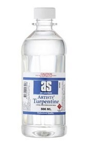 Artists Turpentine As 500ml