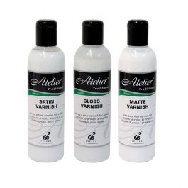 Satin Varnish (& Medium) Atelier 250ml